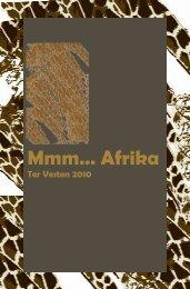 Mmm… Afrika - CC Ter Vesten Beveren