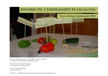 Afrepportering af delmøde - Kogebog til værdibaseret planlægning