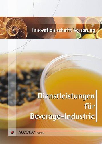 """""""Dienstleistungen für die Beverage-Industrie ... - AUCOTEC BREMEN"""
