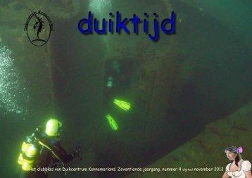 oktober - Duikcentrum Kennemerland