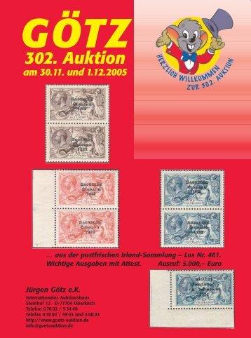 gesamter Katalog (6,99MB) - Auktionshaus Jürgen Götz