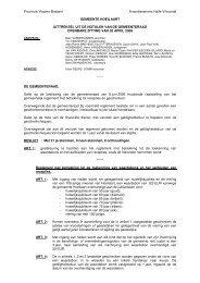beslissing - Website Gemeente Hoeilaart