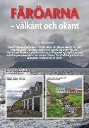 Färöarna – välkänt och okänt - Nordisk Filateli