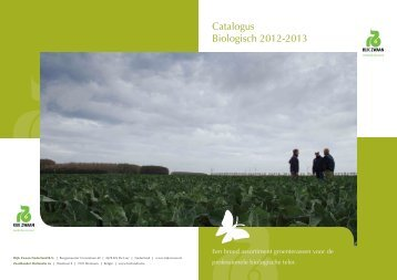 Catalogus Biologisch 2012-2013