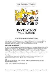 invitation til 5. klasser