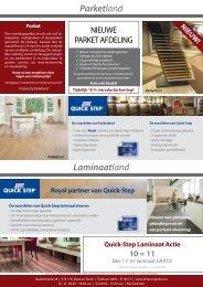 Laminaatland Parketland - Tapijttegelland