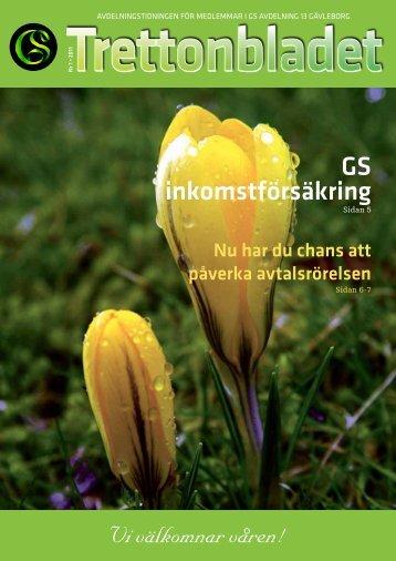 Trettonbladet nr 1 2011.pdf - GS - Facket för skogs-, trä