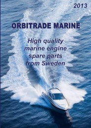 High quality marine engine spare parts from Sweden High quality ...