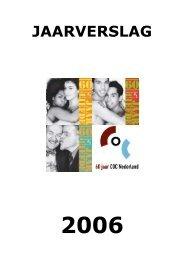 jaarverslag 2006 - COC Nederland