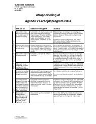 Bilag 3 Agenda 21.pdf - Gladsaxe Kommune