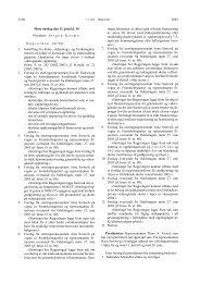 2003 3168 Møte onsdag den 11. juni kl. 10 President: J ø rgen ...
