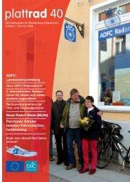 plattrad 40 - ADFC Landesverband MV