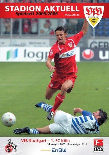 ¥ Stadion Akt. Kıln 05/06.qxd - VfB Stuttgart