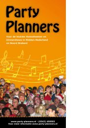 Party Planners - Thema-Plaza