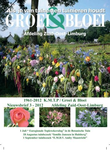 Nieuwsbrief 2012 nr. 3 - Zuid-oost-limburg - Groei & Bloei