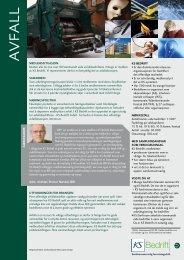 ks produktblad AVFALL - KS Bedrift