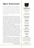Medlemsblad nr: 04 2011 - Teatrets Venner - Page 2