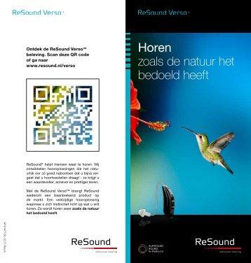 Consumentenbrochure Verso (Laatste wijziging 15.02.2013)