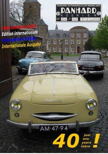 Lees Panhard Koerier 156 online - Panhardclub Nederland