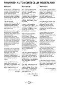 Lees Panhard Koerier 156 online - Panhardclub Nederland - Page 3