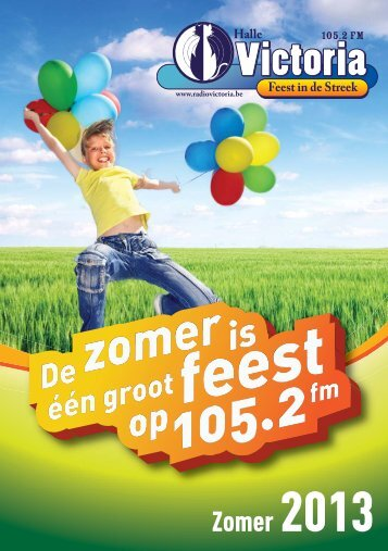 Zomer 2013 - FEEST IN DE STREEK