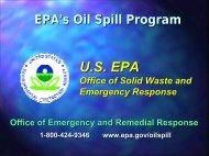 U.S. EPA Oil Spill Program