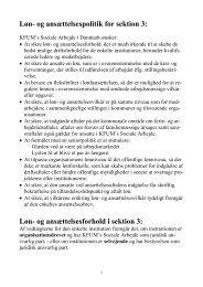 Løn - KFUM's Sociale Arbejde i Danmark