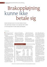 Brakoppløjning kunne ikke betale sig - Kjeld Hansen - BæreDygtighed