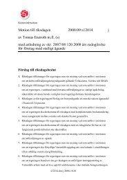 Motion till riksdagen 2008/09:s12014 j av Tomas Eneroth m.fl. (s ...