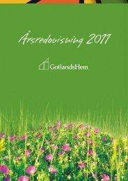 Årsredovisning 2011 - GotlandsHem