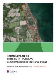 KOMMUNEPLAN ´09 Tillæg nr. 17 - FORSLAG ... - Nyborg Kommune