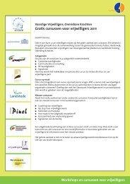 Workshops en cursussen voor vrijwilligers - Vrijwilligerswerk Ermelo