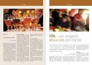 IPA - en engelsk ølsucces på dansk - Bryggeri Skovlyst