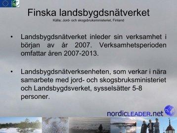 Jord- och skogsbruksministeriet - Nordicleader.net