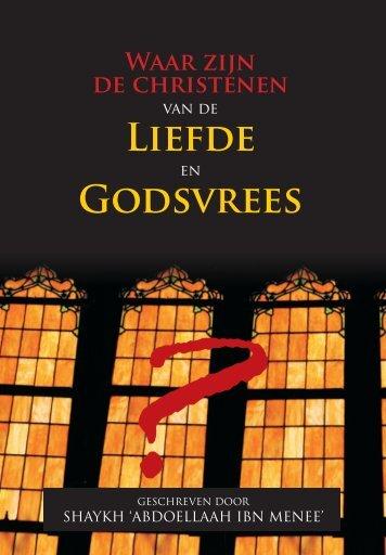 LiEFdE GOdSvREES - Uwkeuze.net