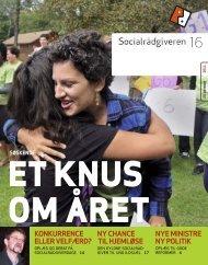 Socialrådgiveren nr. 16-2011 - Dansk Socialrådgiverforening