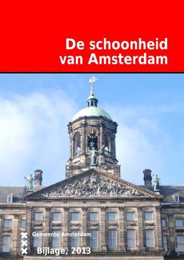 Bijlagen bij 'De Schoonheid van Amsterdam 2013' - Vergaderingen