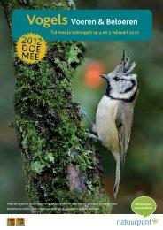 Vogels Voeren & Beloeren Tel mee je tuinvogels op 4 en 5 februari ...