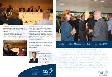Verslag Ronde Tafel Management in Control 17 september 2009 - O&i