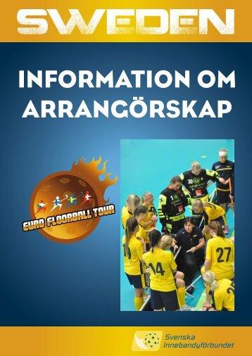 folder ansökan eft 2013 - Svenska innebandyförbundet