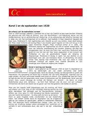 Karel I en de opstanden van 1520 - Casa Cultural