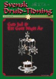 God Jul & Ett Gott Nytt År - svenska druid-orden