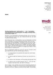 Modregningsklausuler, lønforhold mv - Region Midtjylland