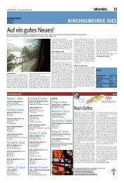 Reformiert Nr. 13 (Januar 2013) - Biel