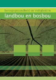 landbou en bosbou - Department of Labour