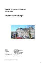 Stageverslag 2 (pdf) - Plastisch chirurgen