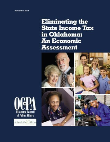 Eliminating the State Income Tax in Oklahoma - Kansas Health ...