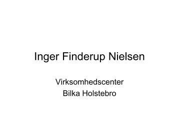 Oplæg fra Bilka Holstebro - virksomhedscenter.dk