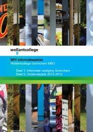BPV-pakket 2012-2013 - Wellantcollege
