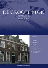 de Groote Klok - mei 2009 - de Groote Sociëteit Zwolle
